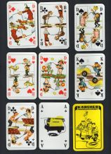 Collectible Advertising  playing cards courts. Karcher.
